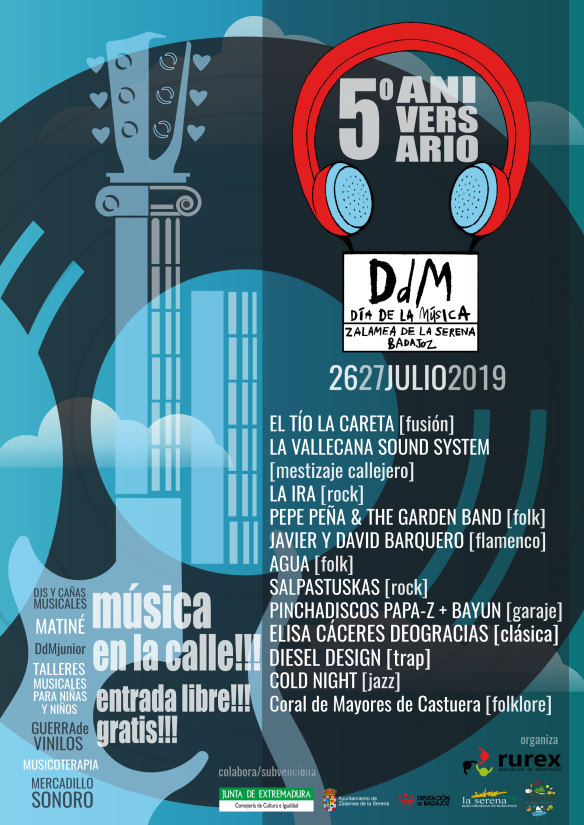 Cartel DDM definitivo